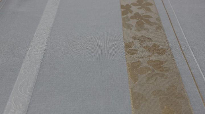 fertigstore togo mit faltenband farbe weiss gold ebay. Black Bedroom Furniture Sets. Home Design Ideas
