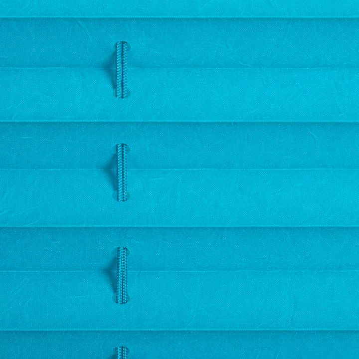 plissee faltstore blau 110x130 cm verspannt. Black Bedroom Furniture Sets. Home Design Ideas