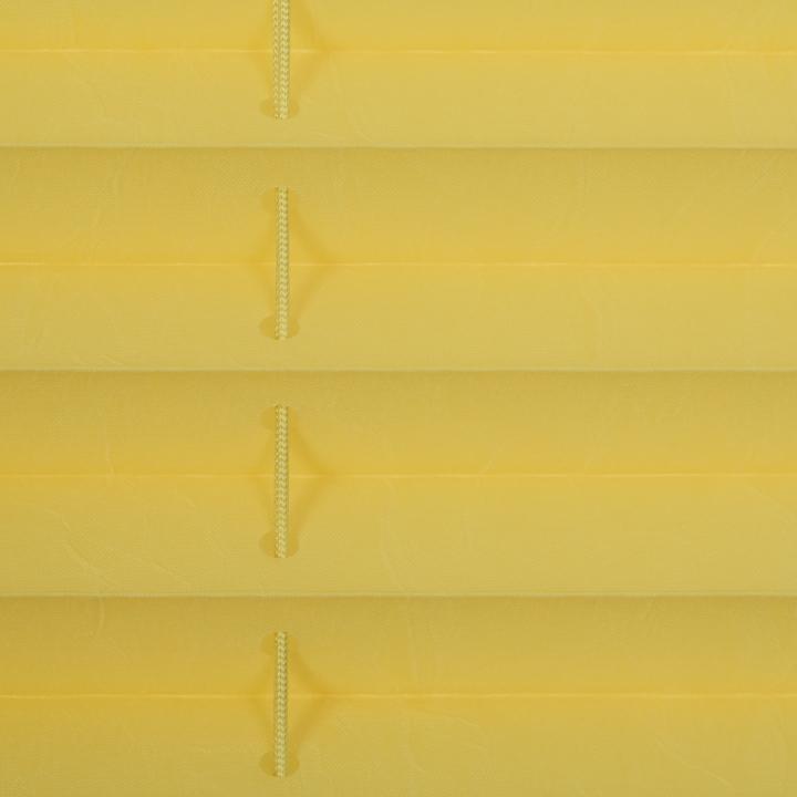 plissee faltstore gelb 60x210 cm verspannt. Black Bedroom Furniture Sets. Home Design Ideas