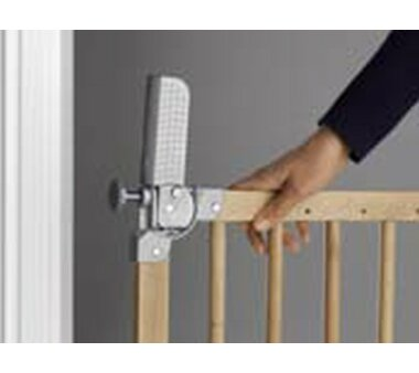 DOLLE Tür- und Treppengitter Pia, Kindersicherheitsgitter, Massivholz lackiert