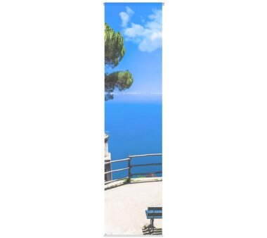 3er-Set Flächenvorhang, Deko blickdicht, LAINES, Höhe 245 cm, 3x Dessin