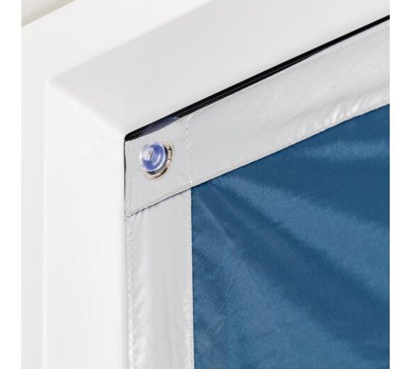 dachfenster sonnenschutz blau 36x51 5 cm wohnfuehlidee. Black Bedroom Furniture Sets. Home Design Ideas