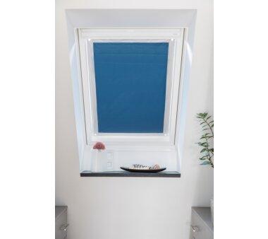 dachfenster sonnenschutz blau 47x91 5 cm wohnfuehlidee. Black Bedroom Furniture Sets. Home Design Ideas