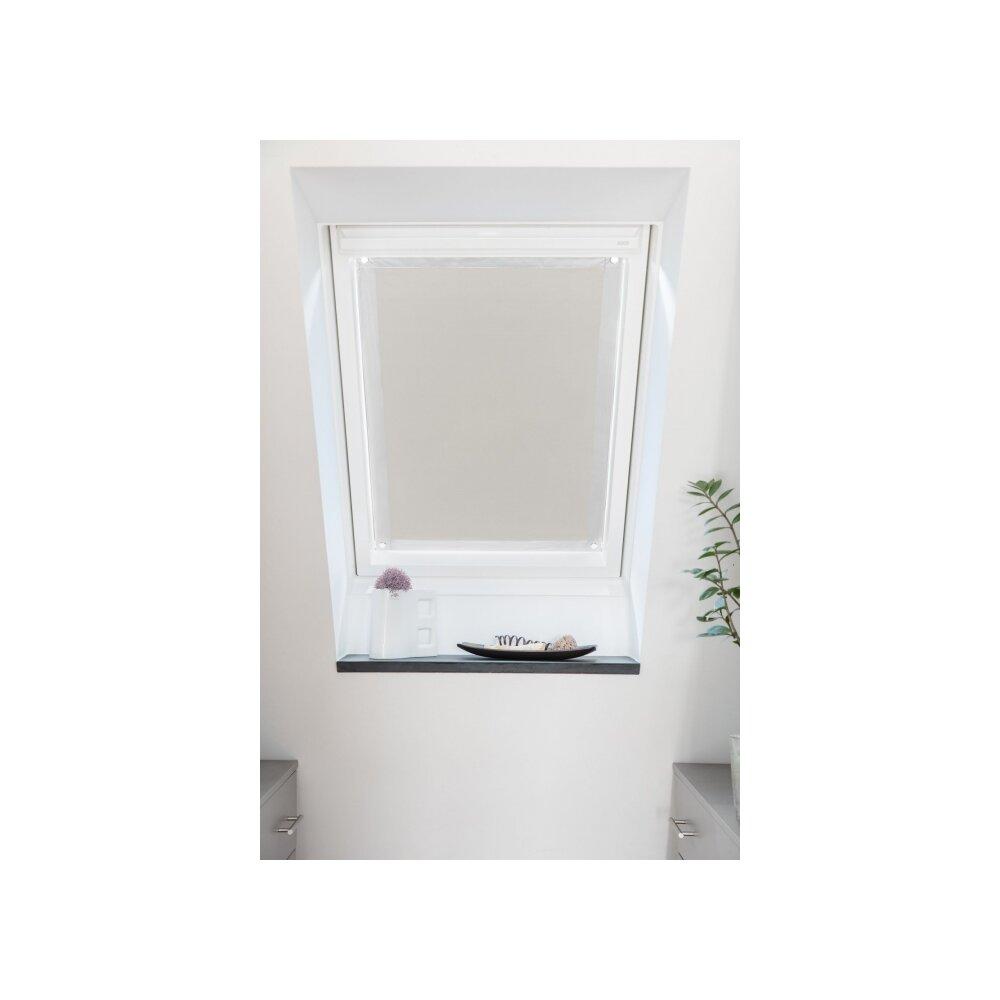 dachfenster sonnenschutz beige 59x91 5 cm. Black Bedroom Furniture Sets. Home Design Ideas