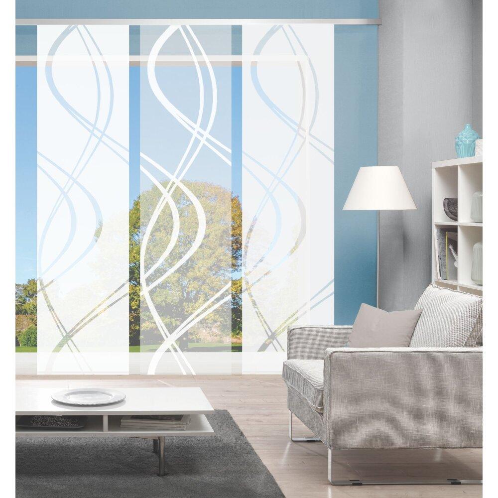 fl chenvorh nge 3er set joanna online kaufen. Black Bedroom Furniture Sets. Home Design Ideas