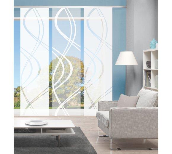 fl chenvorh nge schiebevorh nge online kaufen seite. Black Bedroom Furniture Sets. Home Design Ideas