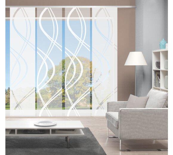 fl chenvorh nge 4er set joanna online kaufen. Black Bedroom Furniture Sets. Home Design Ideas