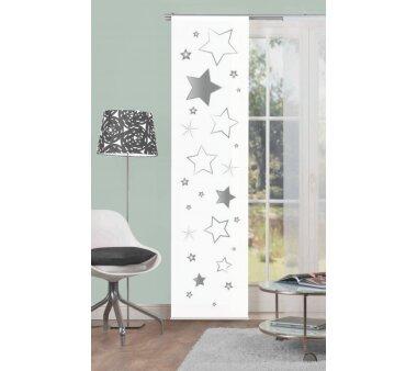 Schiebevorhang Deko blickdicht STARS Größe BxH...