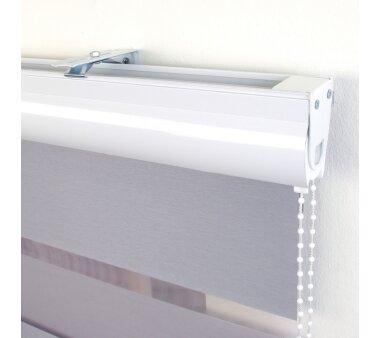 LIEDECO Duo-Rollo, Streifen 20 cm, mit Kassette, silber