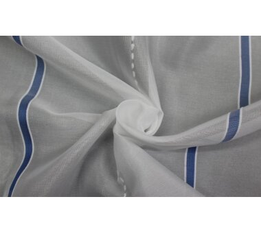 Store nach Maß Betsy mit Faltenband,  Farbe blau