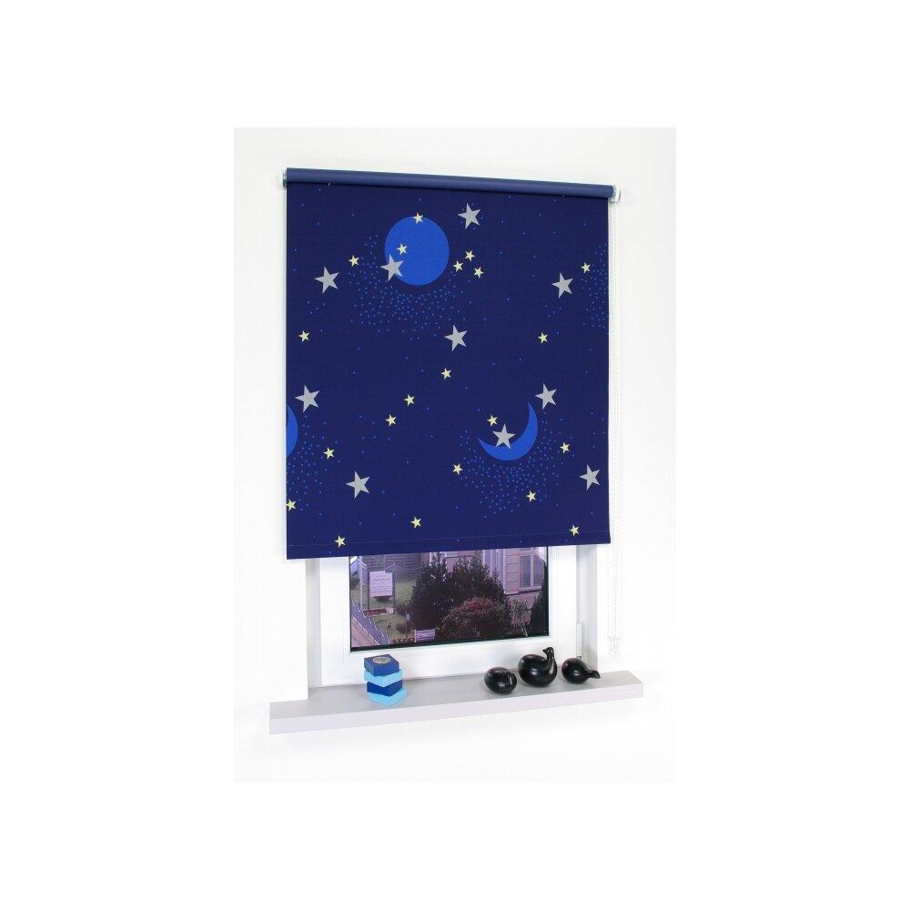 seitenzug rollo sternenhimmel von liedeco kaufen. Black Bedroom Furniture Sets. Home Design Ideas