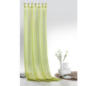 Voile-Schlaufenschal Leara transparent, Farbe pistazie,...