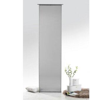 Voile-Schiebevorhang Josie transparent, Farbe grau, HxB...