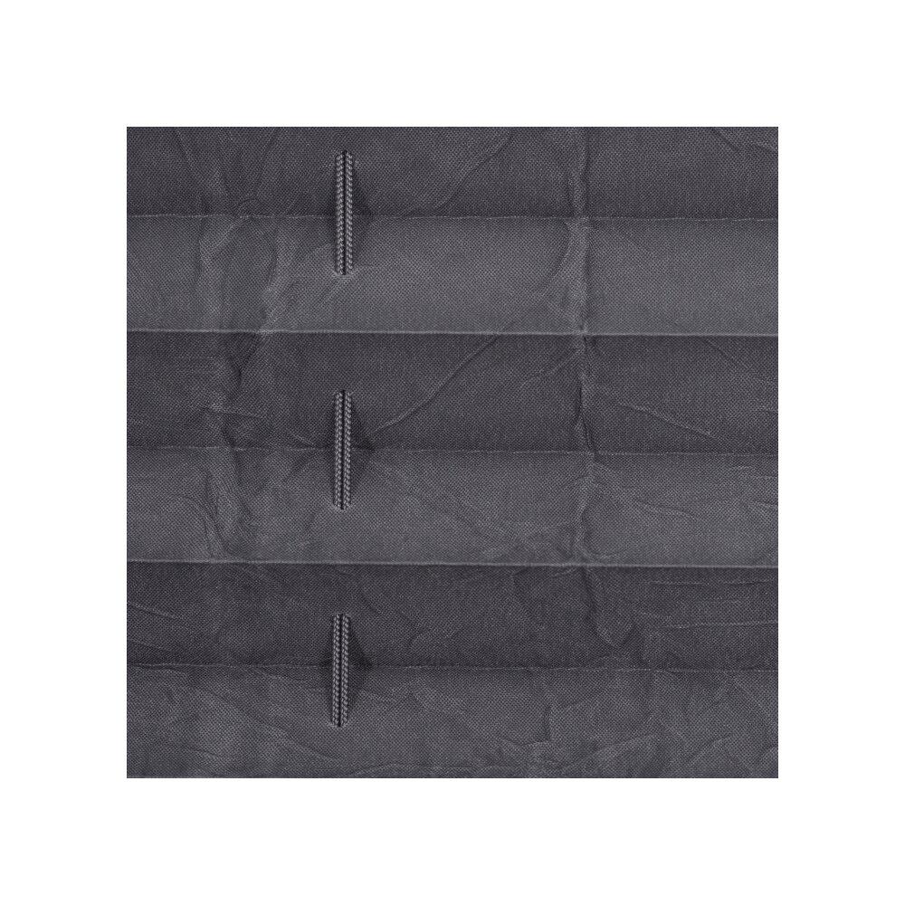 plissee faltstore grau verspannt kaufen wohnfuehlidee. Black Bedroom Furniture Sets. Home Design Ideas