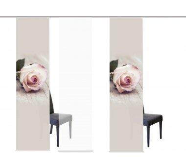 3er-Set Schiebevorhang, 088245-0705, blickdicht, LUCIA,...
