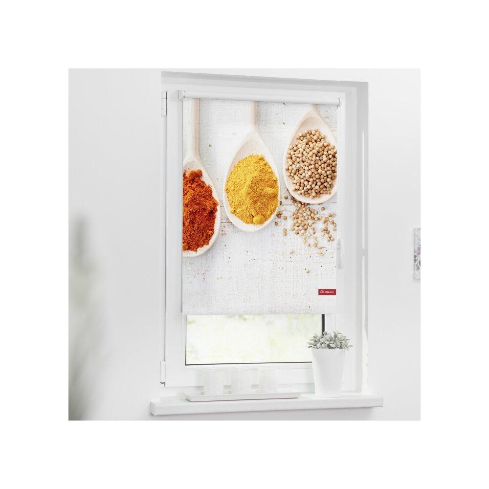 rollo seitenzugrollo spices bunt online kaufen. Black Bedroom Furniture Sets. Home Design Ideas
