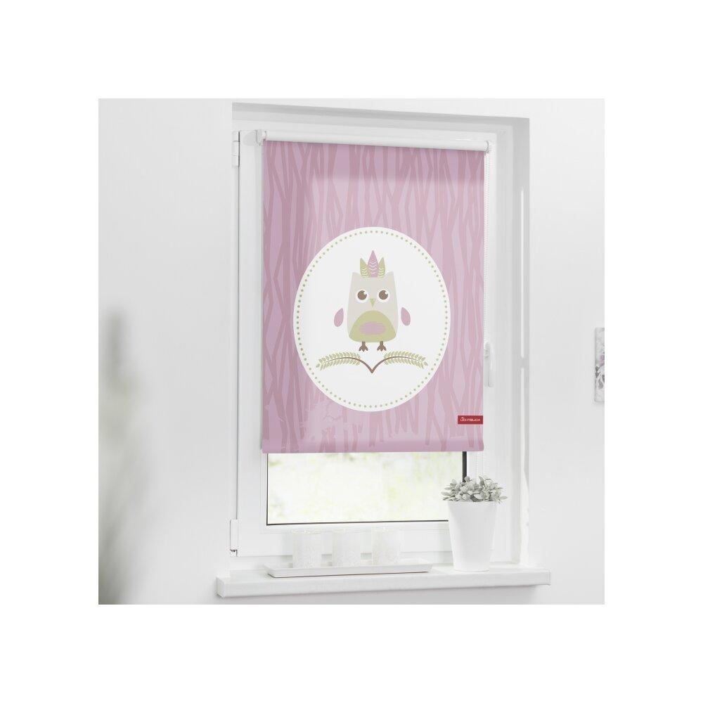 rollo seitenzugrollo sweety rosa online kaufen. Black Bedroom Furniture Sets. Home Design Ideas