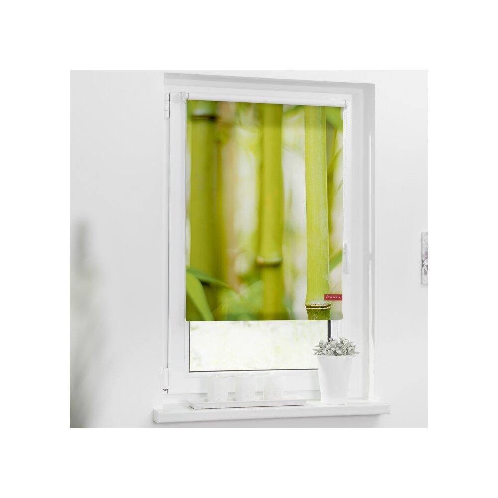 rollo seitenzugrollo bambus gr n online kaufen. Black Bedroom Furniture Sets. Home Design Ideas