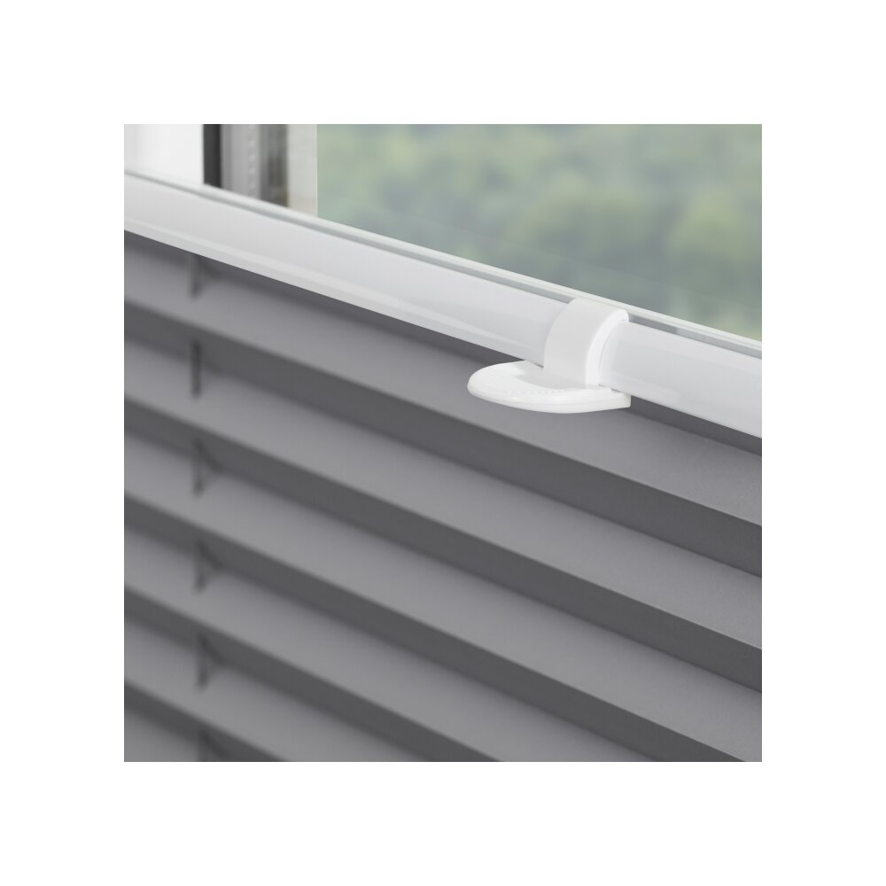 plissee thermo verdunklung grau bei wohnfuehlidee. Black Bedroom Furniture Sets. Home Design Ideas
