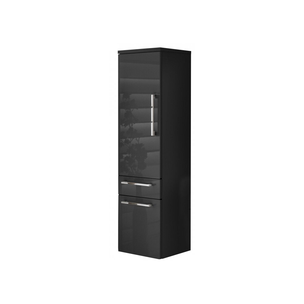 bad hochschrank bormio anthrazit online kaufen. Black Bedroom Furniture Sets. Home Design Ideas