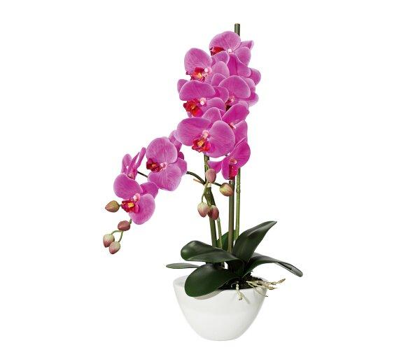 kunstpflanze phalenopsis rosa 94 cm inkl topf. Black Bedroom Furniture Sets. Home Design Ideas