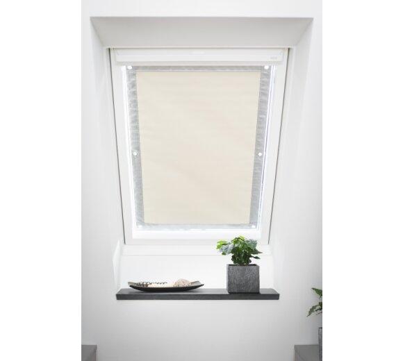 Dachfenster sonnenschutz beige 94x118 9 verdunkl for Sonnenschutz dachfenster