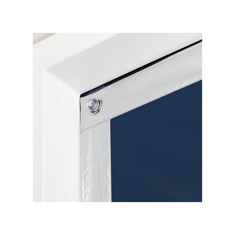 dachfenster sonnenschutz blau 59x113 5 verdunklung wohnfuehlidee. Black Bedroom Furniture Sets. Home Design Ideas