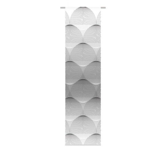 schiebevorhang arlena grau online kaufen. Black Bedroom Furniture Sets. Home Design Ideas