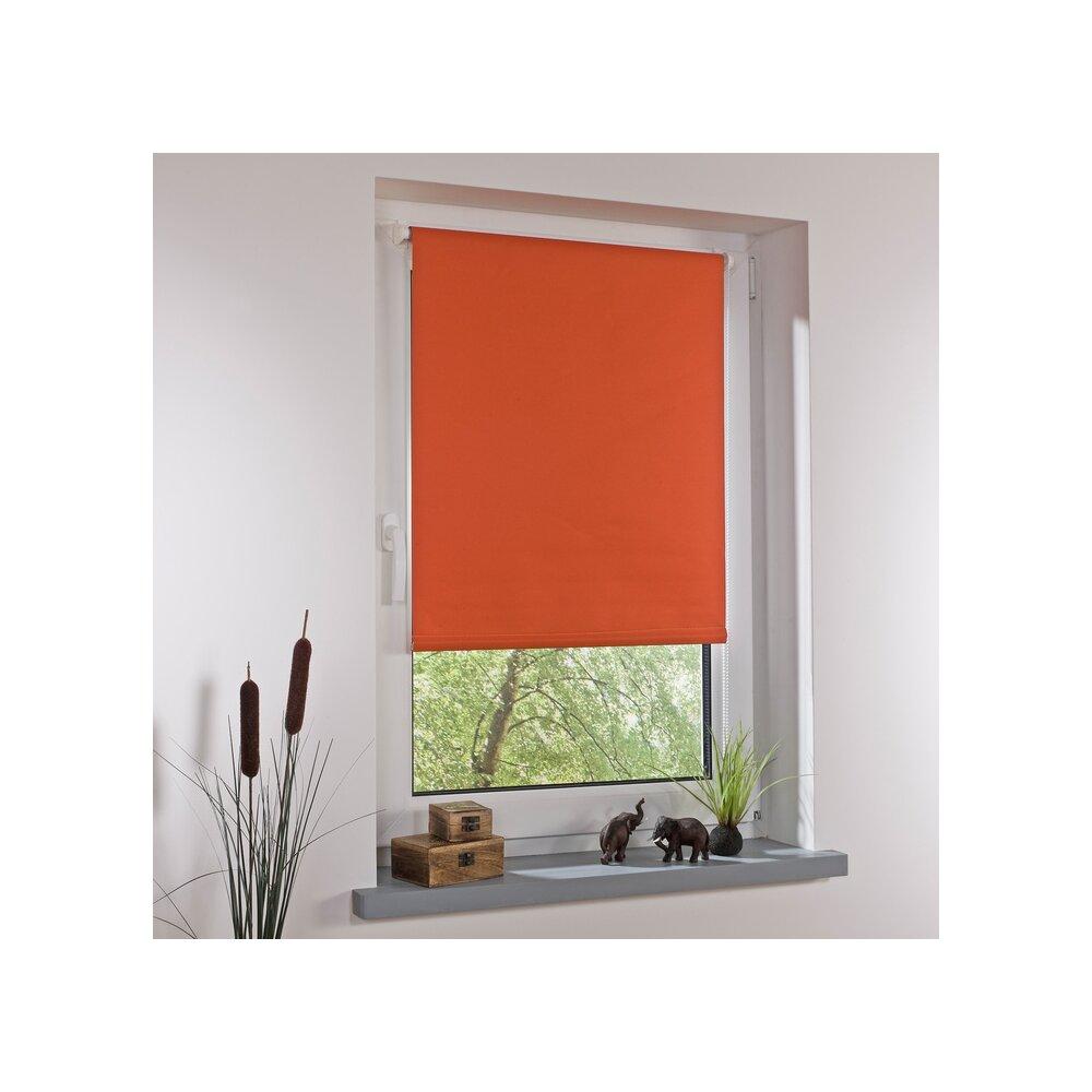 rollo thermo rollo terracotta 45x150 cm liedeco. Black Bedroom Furniture Sets. Home Design Ideas