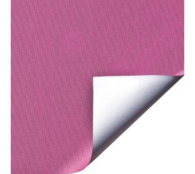 LIEDECO Klemmfix-Rollo Verdunklung mit Thermobeschichtung 045 x 150 cm fuchsia inkl. Klemmträger