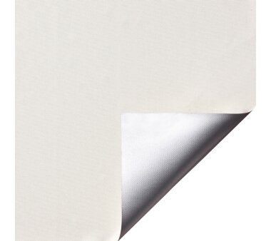 LIEDECO Klemmfix-Rollo Verdunklung mit Thermobeschichtung 060 x 150cm Fb. creme inkl. Klemmträger