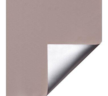 LIEDECO Klemmfix-Rollo Verdunklung mit Thermobeschichtung 080 x 150cm Fb. stone inkl. Klemmträger