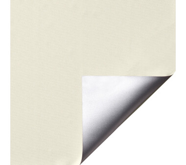 LIEDECO Klemmfix-Rollo Verdunklung mit Thermobeschichtung 080 x 150cm Fb. vanille inkl. Klemmträger
