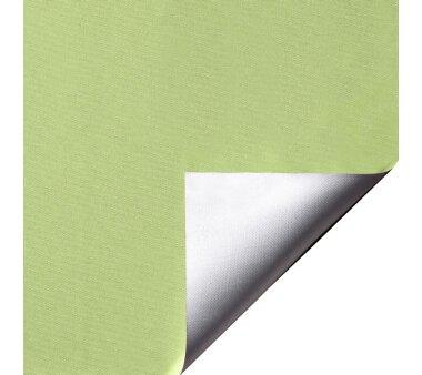 LIEDECO Klemmfix-Rollo Verdunklung mit Thermobeschichtung 080 x 150cm Fb. apfelgrün inkl. Klemmträger