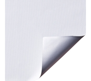 LIEDECO Klemmfix-Rollo Verdunklung mit Thermobeschichtung 100 x 150cm Fb. weiß inkl. Klemmträger