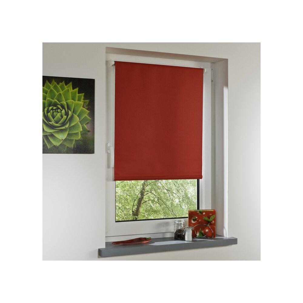 rollo thermo rollo rot 100x150 cm liedeco. Black Bedroom Furniture Sets. Home Design Ideas