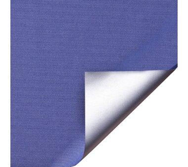 LIEDECO Klemmfix-Rollo Verdunklung mit Thermobeschichtung 100 x 150cm Fb. blau inkl. Klemmträger