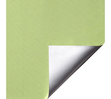 LIEDECO Klemmfix-Rollo Verdunklung mit Thermobeschichtung 100 x 150cm Fb. apfelgrün inkl. Klemmträger