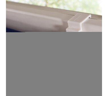 LIEDECO Klemmfix-Rollo Lichtdurchlässig 060 x 150cm Fb. blau inkl. Klemmträger