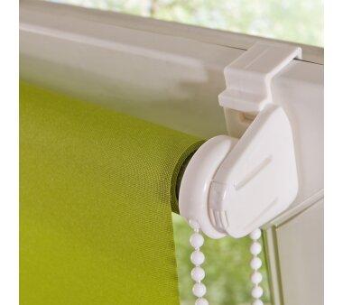 LIEDECO Klemmfix-Rollo Lichtdurchlässig 100 x 150cm Fb. grün inkl. Klemmträger