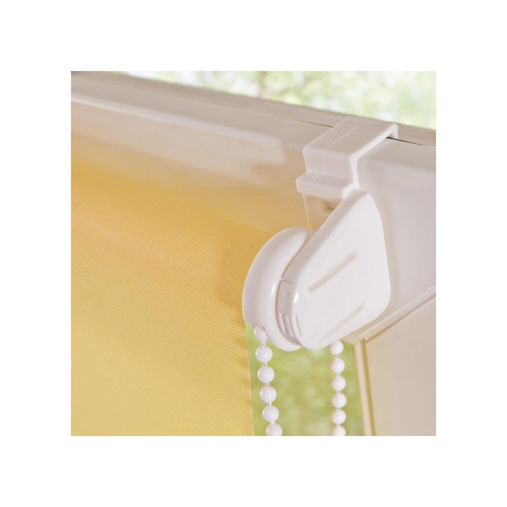 rollo klemmfix rollo gelb 100x150 cm liedeco. Black Bedroom Furniture Sets. Home Design Ideas