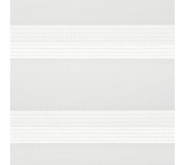 LIEDECO Klemmfix Duo-Rollo mini 045x160 cm weiß inkl. Klemmträger