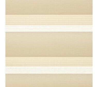 LIEDECO Klemmfix Duo-Rollo mini 100x160 cm apricot inkl. Klemmträger