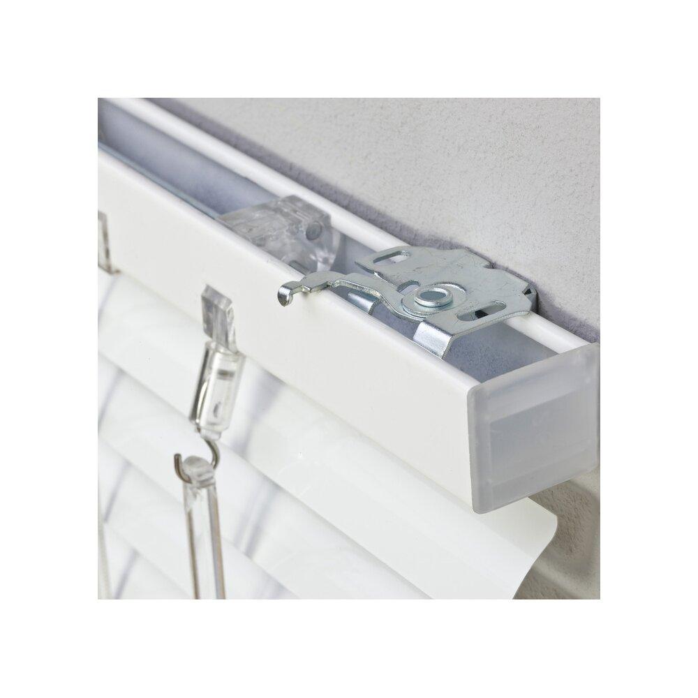 jalousie alu jalousie wei 60x130 cm liedeco. Black Bedroom Furniture Sets. Home Design Ideas