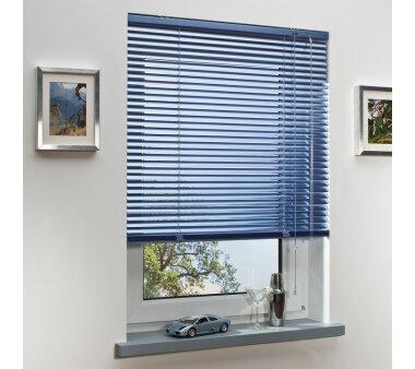 LIEDECO Jalousie aus Aluminium 060 x 130 cm hellblau