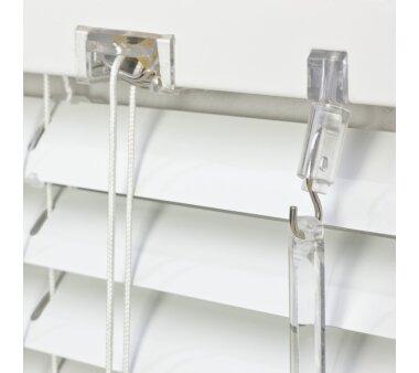 LIEDECO Jalousie aus Aluminium 080 x 130 cm weiß