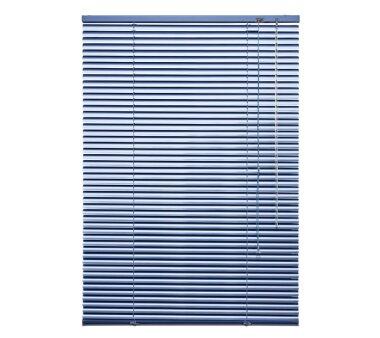 LIEDECO Jalousie aus Aluminium 080 x 130 cm hellblau