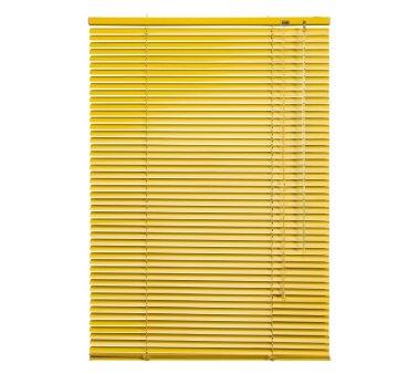 LIEDECO Jalousie aus Aluminium 080 x 130 cm gelb
