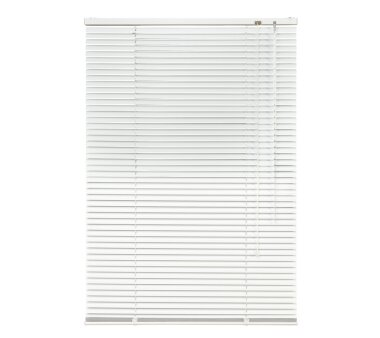LIEDECO Jalousie aus Aluminium 080 x 160 cm, weiß