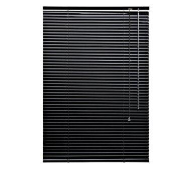 LIEDECO Jalousie aus Aluminium 080 x 160 cm schwarz